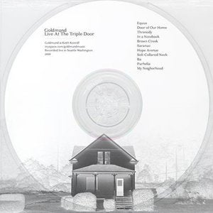 Image of Goldmund | Live At The Triple Door | CD Mint Julep | Songs About Snow (CD-R) (TEMPORARILY SOLD OUT)