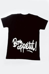 Image of Bon Appetit - Black V-Neck
