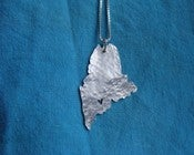 Image of Maine State Necklace