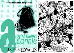 "Image of ""Aunt Connie and the Plague of Beards"" Comic"