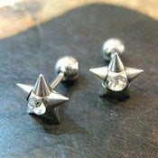 Image of Spiky Star Studs