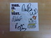 Image of This is a test CD single SIGNED