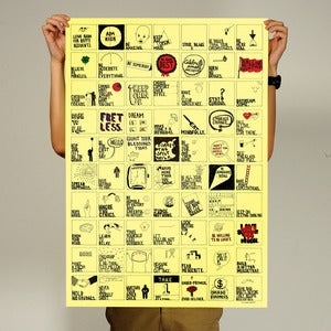 "Image of Things We Forget - A<br><span style=""font-weight:normal""><em>by Post-it Guy</em></span>"