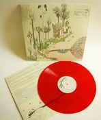 Image of &quot;Reverence for Fallen Trees&quot; LP on red vinyl