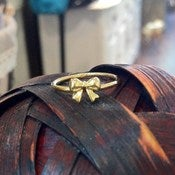 Image of Teeny Tiny Bow Ring