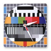 Image of Screen Test Clock (Square)