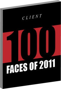 Image of &quot;100 FACES OF 2011&quot; - SOFT BACK/MAGAZINE FORMAT