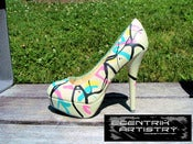 "Image of ""Cosmic Dreams"" Customized High Heels (size 8)"