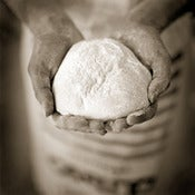 Image of Dough in Hands