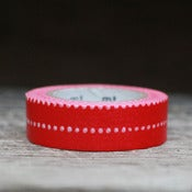 Image of Red Dot Japanese Washi Tape