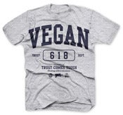 Image of VEGAN COLLEGE T-SHIRT