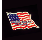 Image of America Bless God Magnet