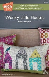Image of Wonky Little Houses™ PILLOW pattern