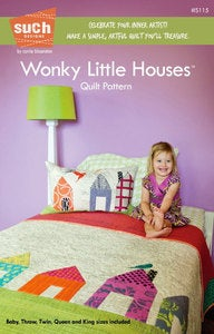 Image of Wonky Little Houses™ QUILT pattern