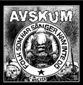 "Image of AVSKUM - ""Folk Som Hars Sanger  Kan Inte Do "" 7"""