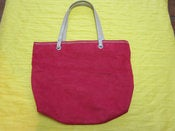 Image of Red Lancome Tote