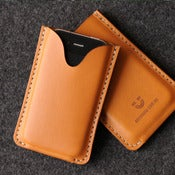 Image of iPhone Leather Case - Blank
