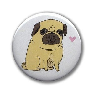Image of Pug Pocket Mirror