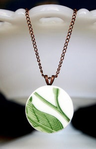 Image of Green Leaf Necklace