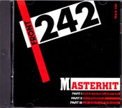 Image of FRONT 242- Masterhit CD/ Rare Out Of Print