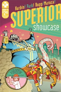 Image of SUPERIOR SHOWCASE #3 (WITH A LIL SKETCH)