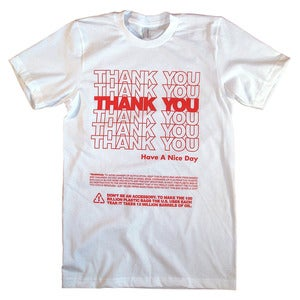 Image of THANK YOU - Red
