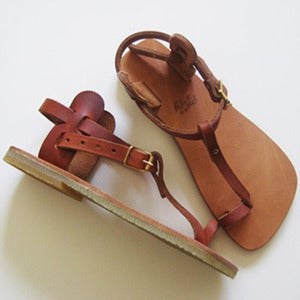 Image of Womens T-Strap Sandals by Roberta Settels