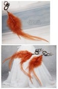 Image of SALE! Feather Dangle Earrings (FREE Shipping)