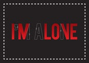 Image of I'm alone / In love
