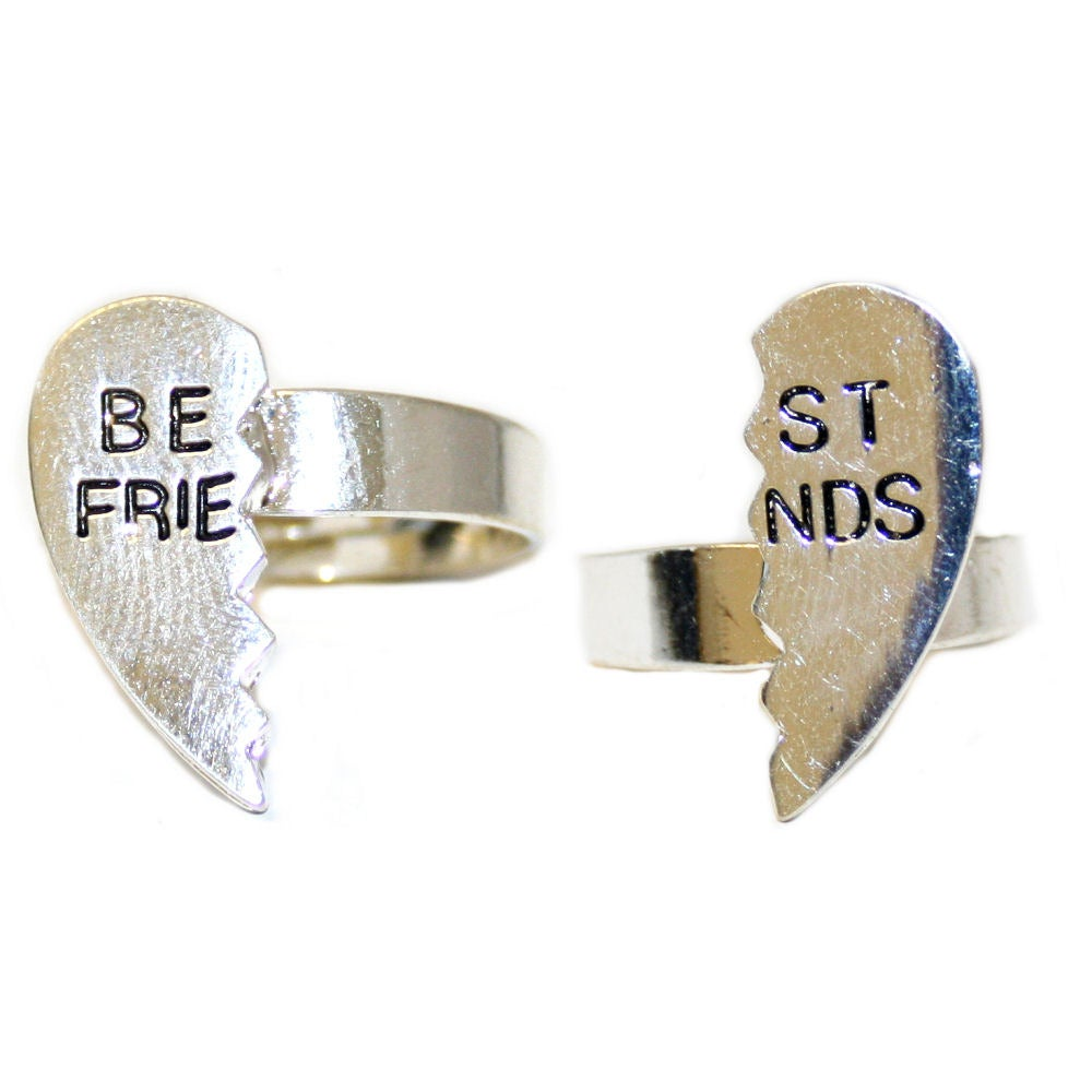 same day shipping infinity ring best friends ring