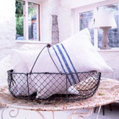 Image of Linen Grain Sack Cushion