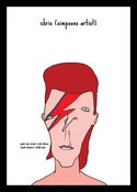 Image of David Bowie (Saggy Stardust)