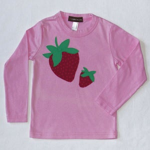Image of STRAWBERRY T-SHIRT PINK