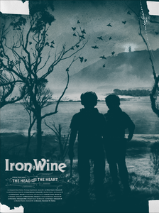 Image of Iron &amp; Wine Tour Poster