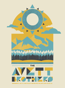 Image of The Avett Brothers Sun Valley