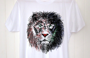 Image of T-shirt LION by Dadawan