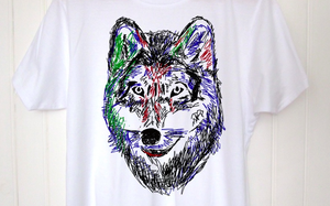 Image of T-shirt Wolf by Dadawan