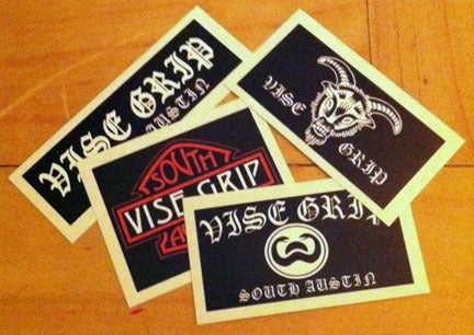 Vise Grip Sticker Pack