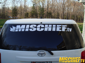 Image of Mischief Windshield Sticker Set (3pcs)