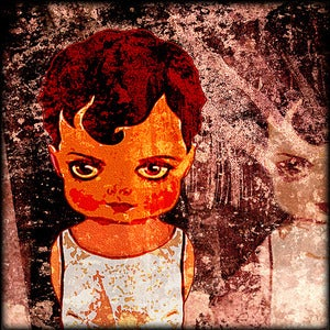"Image of ""Dolls: Rose Red"" <br> Sizes: 4x4"", 6x6"" & 8x8"""