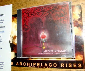 Image of The Birds' Robe Collaboration Band - Musodynamics CD