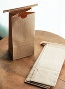 Image of 1/2 Pound Kraft Tin Tie Coffee Bags