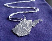 Image of West Virginia State Necklace