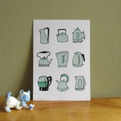 Image of Kettle Compendium Screen Print