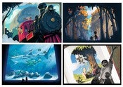 Image of Where the Rainbow Ends Postcards (set of 4)