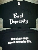 Image of Feral Depravity T-shirt