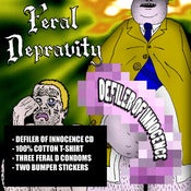 Image of Feral Depravity Merch Bundle