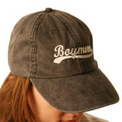 Image of A107 Black Script Cap