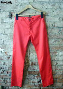 Image of Dusty Red Chinos