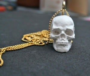 Image of White Skull Necklace